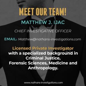 Miami Private Investigator Matthew Ijac