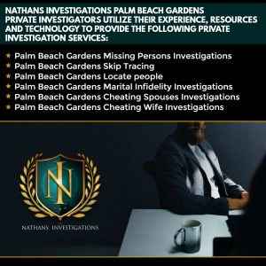 Palm Beach Gardens Palmetto Bay Private Investigator