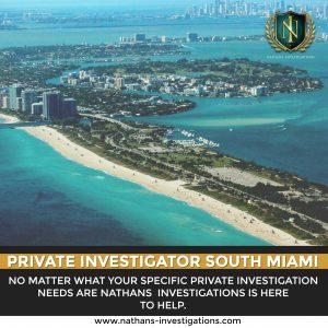 South Miami Private Investigator