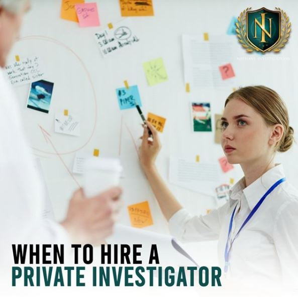 When to Hire a Private Investigator | Nathans Investigations